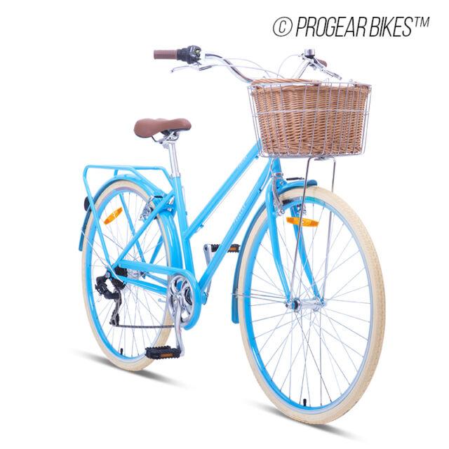 """Progear Bike Retro Ladies Pomona 700c*17"""" in Sky Blue"""