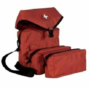 ELITE FIRST AID Corpsman M3 Medic Bag STOCKED Trauma Kit Military Survival RED
