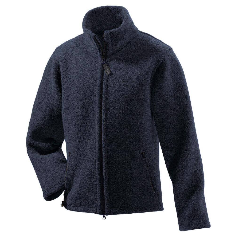 Muflón señores Walk-chaqueta con cuello alto lana virgen