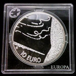 FINLANDE - 10 EURO EN ARGENT 2009 - PROOF - FREDERIK PACIUS - RARE!!!!