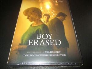 "DVD NEUF ""BOY ERASED"" Lucas HEDGES, Nicole KIDMAN, Russell CROWE / Joel EDGERTON"