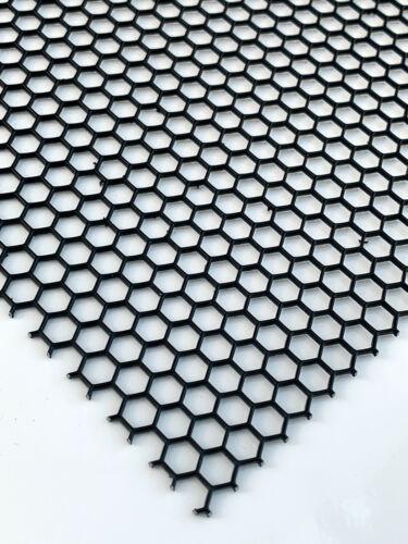 Lochblech Schwarz Streckgitter Hexagonal HV6-6,7 1,5mm dick Kostenloser Versand