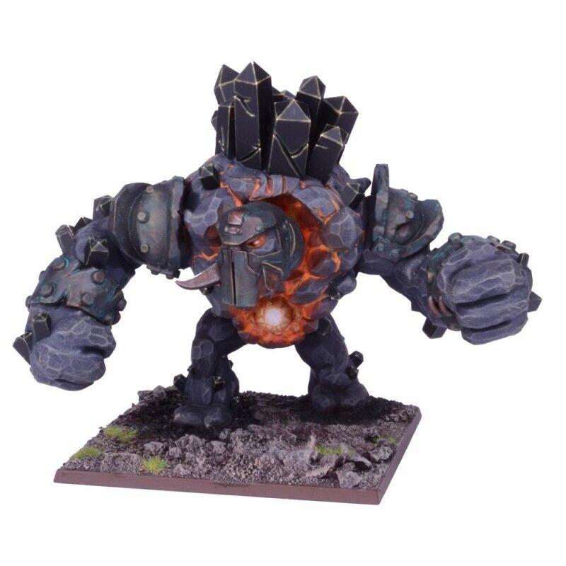 KINGS OF WAR - Greater Obsidian Golem NEW   NEUF