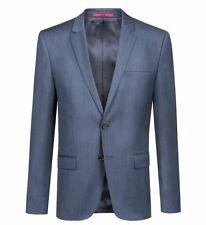 eb7b55360 $999 HUGO BOSS Men's SLIM Fit Wool Sport Coat BLUE SUIT JACKET BLAZER 38R