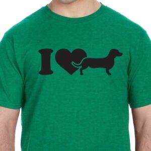 77acab69 I Love Dachshund Heart Doxie Wiener Dog Pet Puppy Gift Fun Animal ...