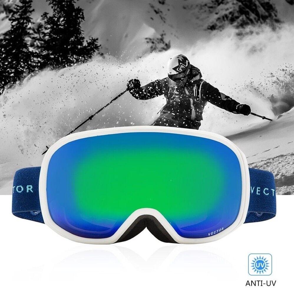 Anti-fog  Ski Goggles UV400 Spherical Skiing Glasses  supply quality product