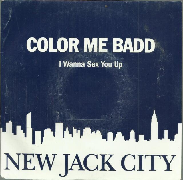 45 TOURS 2 TITLES / NEW JACK CITY COLOR ME BADD