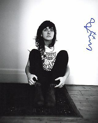 Provided Gfa Indie Rock Star Courtney Barnett Signed 8x10 Photo Ej1 Coa