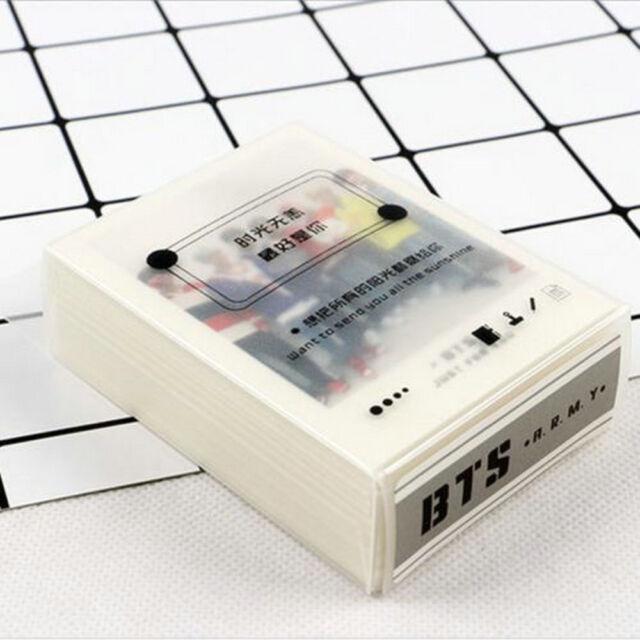45pcs/Set Kpop Lomo Card BTS BANGTAN BOYS SUGA JIMIN J-HOPE HD Polaroid Photo H