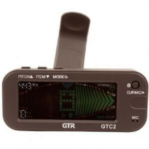Guitar Tuner Gtr Gtc2 Clip On Reversible Clip Metronome Tuner Bass,ukelele, Apparence Attractive