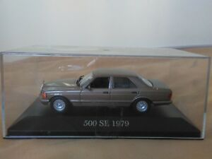 Preciosa-miniatura-1-43-Mercedes-Benz-500-SE-de-1979-de-IXO-Altaya