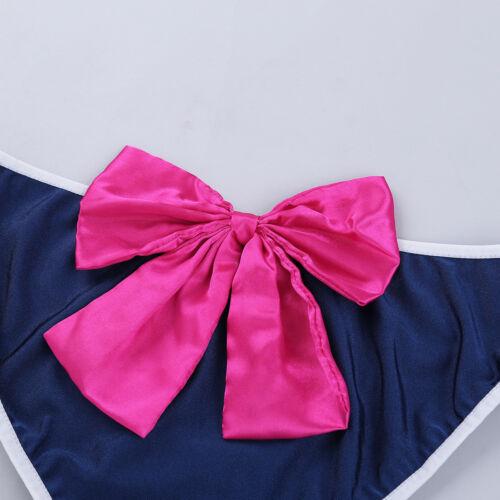 Women Girl Sailor Moon Suit Cosplay Lingerie set Costume Outfit Dress Underwear
