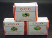 3 Papaya Skin Whitening Organic Papaya Soap Herbal Soap Family Size