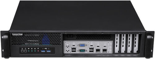 """Micro-ATX NEW Rackmount Chassis 2x3.5/""""+2.5/""""HD D14/"""" Case 2U Front Access 400W"""