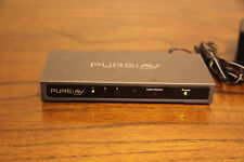 Belkin PURE AV HDMI Interface 3-to-1 Video Switch & AC Adapter AV24502tt NICE!