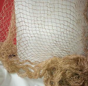 Fischernetz Deko deko fischernetz 100 x 200 cm jute dekonetz top qualität maritime