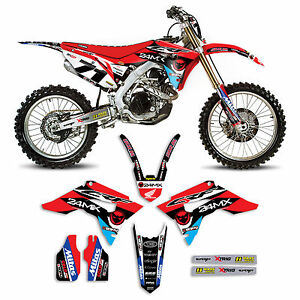 2017 honda crf 450 24mx dirt bike graphics kit motocross graphics image is loading 2017 honda crf 450 24mx dirt bike graphics publicscrutiny Choice Image