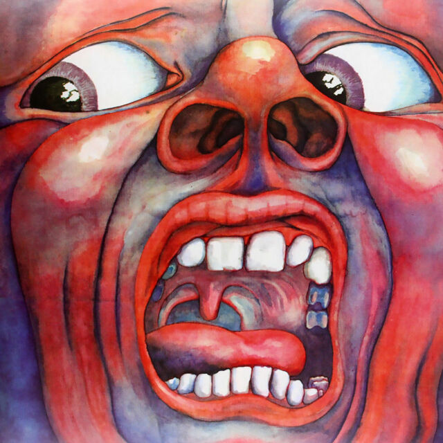 Art In The Court Of The Crimson King Cover Album L-W Canvas Poster P-384