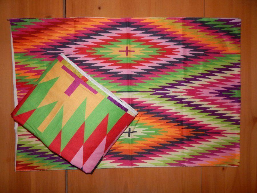 DENY Designs Kilimi Multi colord Twin Duvet w  shams