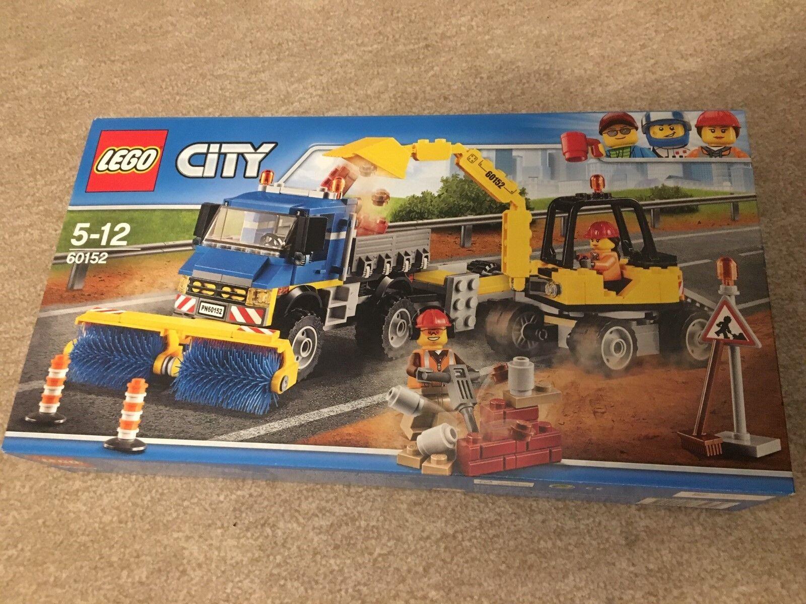Lego 60152 Straßenreiniger und Bagger