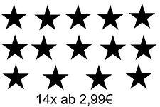 14 Star Star Sticker Car Wall Tattoo Fun Bonnet Rear Window Window Door