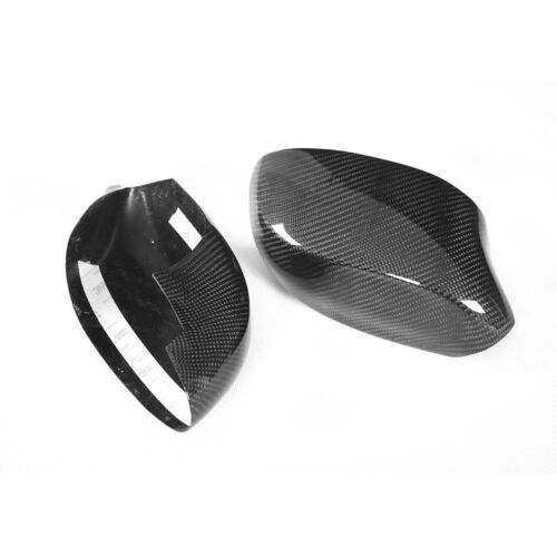 Fit for BMW E85 Z4 2002-2008 Rearview Mirror Covers Side Wing Caps Carbon Fiber