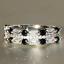 thumbnail 16 - 925 Silver Women Gemstone Birthstone Diamond Wedding Engagement Ring Wholesale