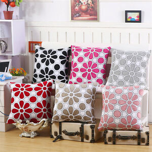 Sofa-Decoration-Throw-Pillow-Case-Flower-Pattern-Chenille-Cushion-Cover-43cm