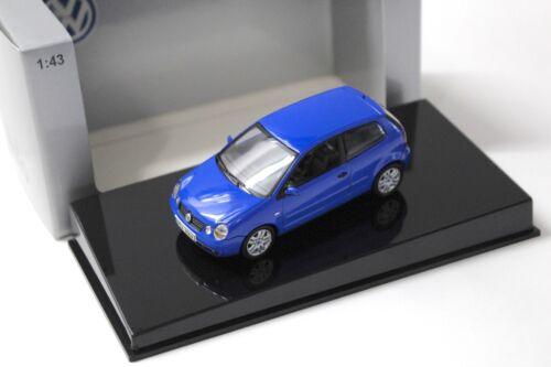 1:43 AUTOart VW Polo 9N blue DEALER NEW bei PREMIUM-MODELCARS
