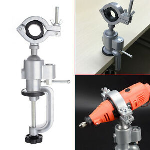 Universal-360-Clamp-on-Grinder-Bench-Vise-Electric-Drill-Stand-Rotating-Home
