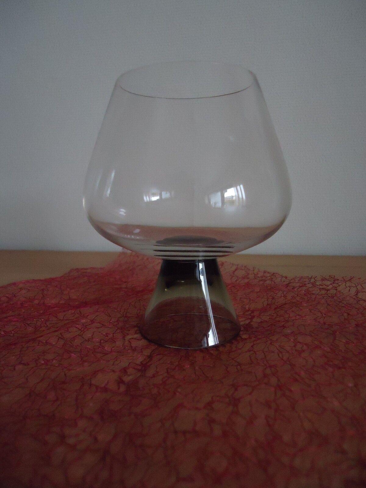 3 3 3 edle Cognac-Schwenker von Rosanthal aus Klarglas mit Rauchglas-Fuß TOP-Zustand   Gewinnen Sie das Lob der Kunden  aa6198