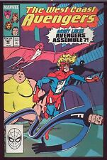 WEST COAST AVENGERS # 46 (JULY 1988) NEAR MINT MARVEL COMICS