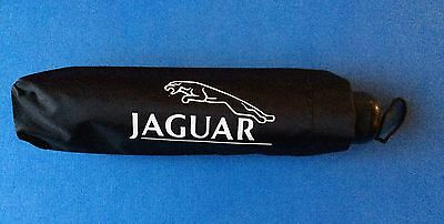 Punctual Jaguar Black Glovebox Brolly Umbrella Xe Xf Xj E F S X Pace Type Christmas Gift Modern Techniques Badges & Mascots