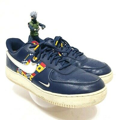 pretty cool outlet for sale 100% top quality NIKE Air Force One AF1 LV8 Nautical Redux AR5394 400 Navy Sail ...