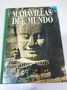 Maravillas-del-Mundo-Angkor-Vat-Azay-le-Rideau-Libro-Tapa-Dura-Espanol