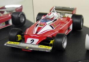 Quartzo-1-43-Scale-Q4068-Ferrari-312-T2-Clay-Regazzoni-Belgian-GP-Diecast-F1-Car