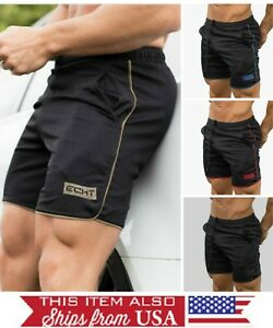 Men's SHORTS GYM TRAINING BODYBUILDING RUNNING CROSSFIT Muscle FAST SHIPPING !!!