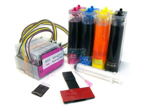 Continuous Ink Supply System for Hp 932//933 Officejet 7110 7610 7612 CISS