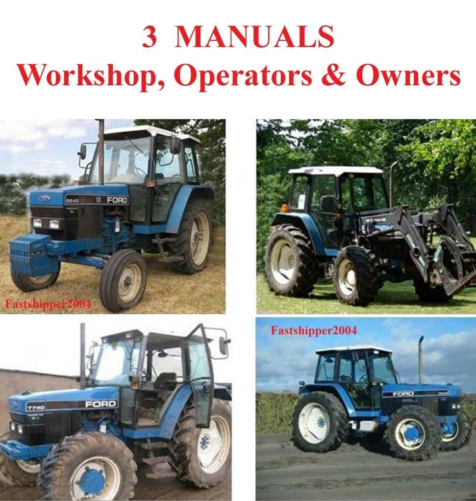 4430 New Holland Ford Tractor Manual 6600 Wiring Diagram 5640 6640 7740 7840 8240 8340 Tractors Service Rh Ebay Com 6610