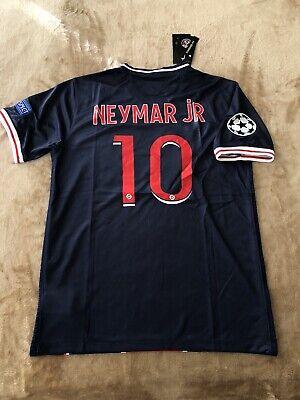 Neymar Jr Jersey Psg 2020 21 Season Men S Soccer Home 50th Anniversary Large Ebay