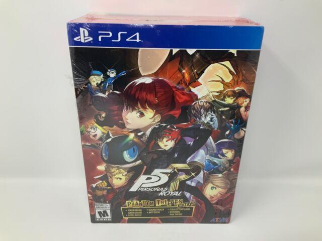 Persona 5 Royal: Phantom Thieves Edition PS4 (PlayStation 4, 2020) READ