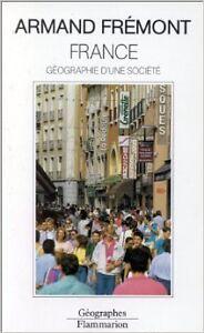 Armand-Fremont-France-Geographie-d-039-une-societe-1992-Broche