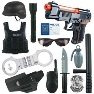 Children-Pretend-Play-Toys-Police-Army-War-Role-Play-Military-Combat-Playset
