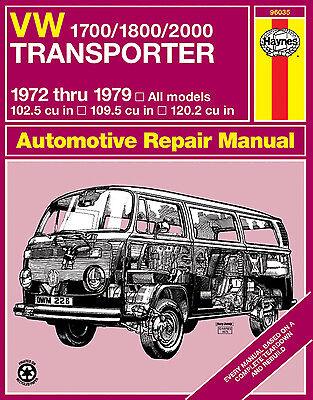 Repair Manual Haynes 96035 fits 72-79 VW Transporter