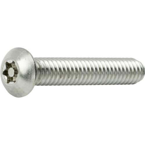 "10-24 x 5//8/"" Torx Security Machine Screws Button Head Stainless Steel Qty 25"