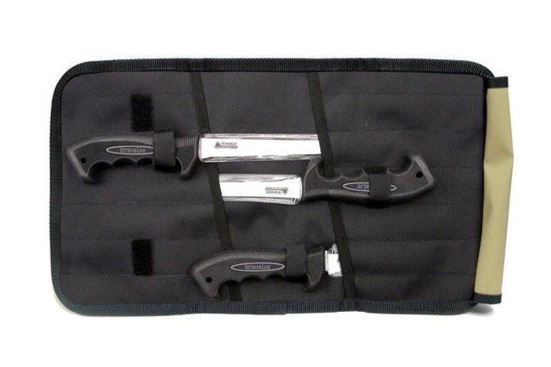 OUTDOOR LIFE Knife Fillet 4 pc Set Freshwater w Case CHN FS0065C