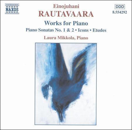 1 of 1 - Einojuhani Rautavaara Works for Piano Sonatas Icons Etudes CD Naxos Near New
