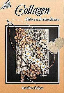 Collagen: Bilder aus Trockenpflanzen. von Geiger, Anneliese   Buch   Zustand gut