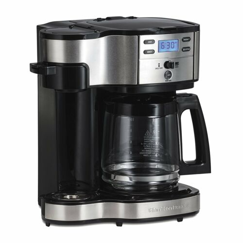 Hamilton Beach 49980A Single Serve Coffee Brewer and Full Pot Coffee Maker