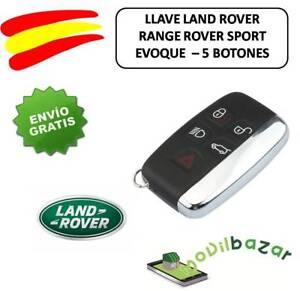 LLAVE-LAND-ROVER-RANGE-ROVER-SPORT-EVOQUE-CARCASA-MANDO-FUNDA-KEY-NEW